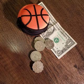 名師設計 籃球散紙包