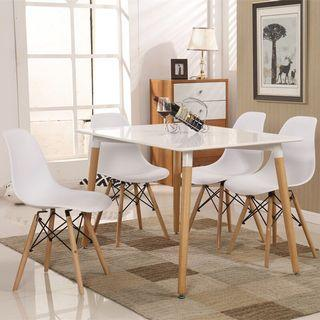 Eames dining set table + Chairs (FREE POSTAGE ) NO COD