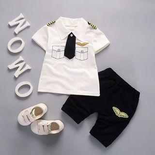 Baby Boy Pilot Set