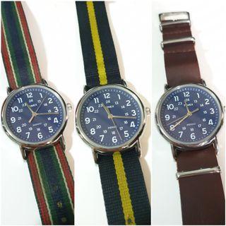 TIMEX Weekender Steel Blue Dial (ABT062)