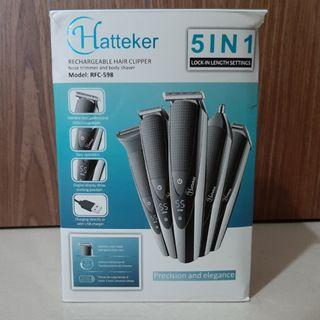 🚚 Hatteker Rechargeable Hair Clipper