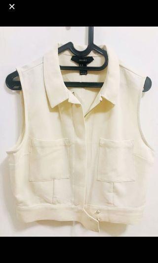 Forever21 White Vest