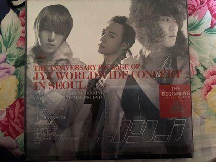 Preloved Kpop CD (JYJ)