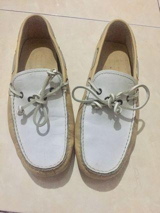 Sepatu Tods - Driving Shoes Yellow White