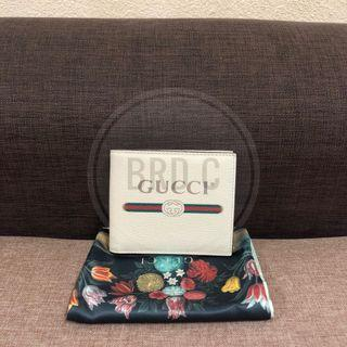 Authentic Gucci Wallet Whitee