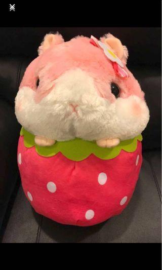 Coroham Coron by Amuse Fruits Hamster Big Soft Toy
