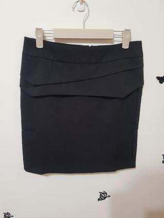 全新 韓版 遮小肚肉肉神器,黑色 造型黑裙 ,氣質讓裙子幫您說話 套裝裙