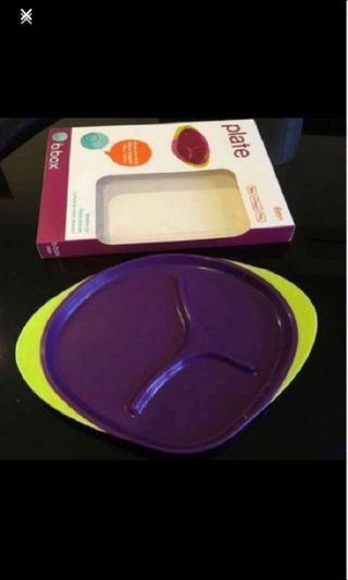 🚚 B.box Toddler Children Plate (BPA-free)