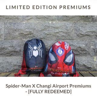 Spider-Man Far From Home Drawstring Bag