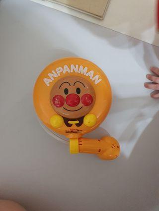 本進口 麵包超人 Anpanman 電動式 蓮蓬頭 吸水幫浦 水龍頭 洗澡玩具