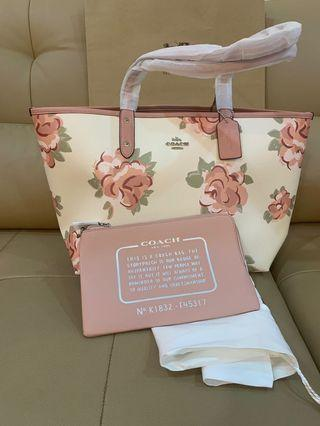 Ready Stock Authentic coach 45317 women city totes