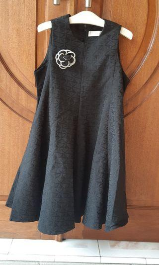 Gaun Pesta Hitam (Mini Dress Black)