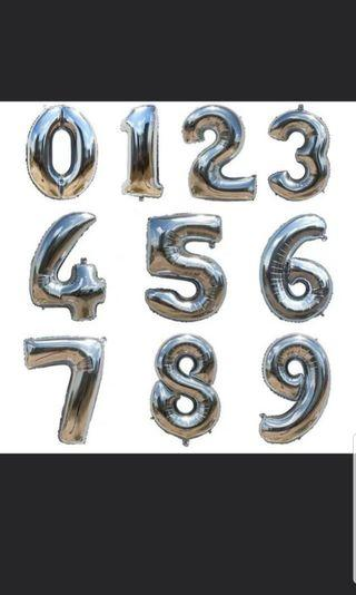 2 0 Number Foil Balloon