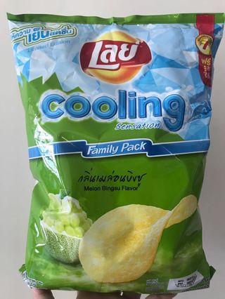 🚚 Lays Melon Bingsu potato chips