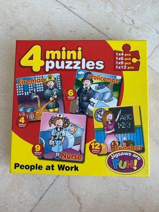 Early kids puzzles - 3-6 yrs old