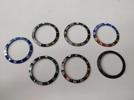 *SALE* High quality bezel inserts for skx007/skx009/skx011