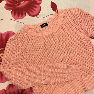 Cropped Pink Sweater #SwapAU