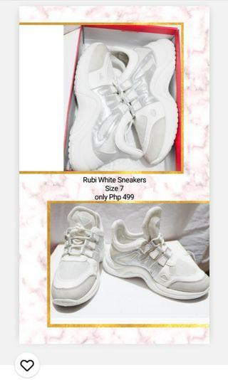 Rubi White Sneakers