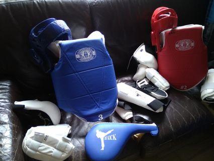 兒童跆拳道保護裝備 (Taekwondo protection for kids)