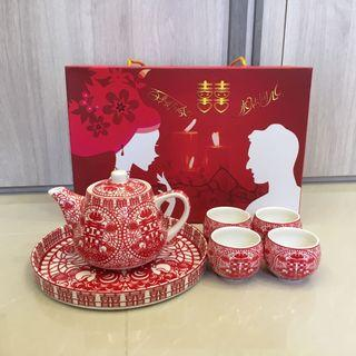 🚚 Wedding Tea Set Free Sewing Kit