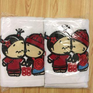 🚚 Wedding Towels