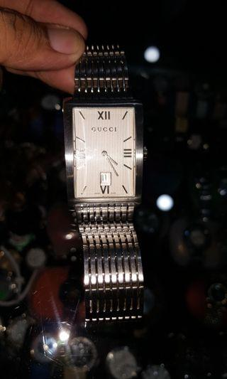 Gucci Silver Mens Watch Authentic
