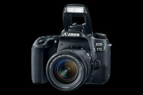 Canon 77D Lensa 18-55