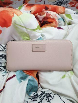 Mango Pastel Pink Wallet
