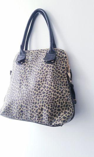 Cheetah Faux Leather Bag/Crossbody