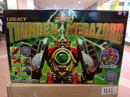 Legacy thunder megazord power rangers