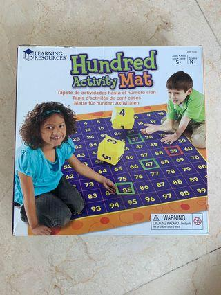 🚚 Learning Resources kids education - Hundred Activity May