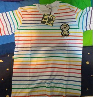A bathing ape baby milo tee t-shirt new 全新有牌 L size