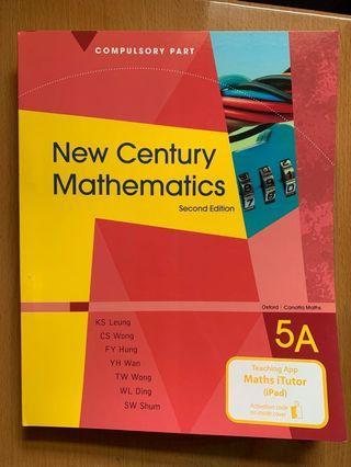 New Century Mathematics 5A