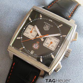 豪雅摩納哥自動計時碼表  TAG HEUER MONACO ACM limited edition Monaco SS Chronograph