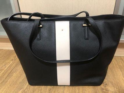 🚚 Kate space black tote bag