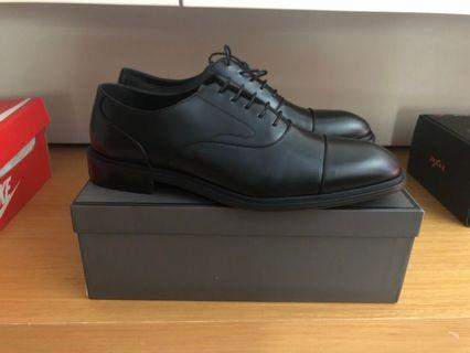 Pedro formal black leather shoes size 45