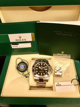 [Brand New] Rolex GMT Master 2 Green Hand (Discontinued)