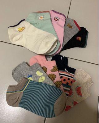 5pcs set cute sock