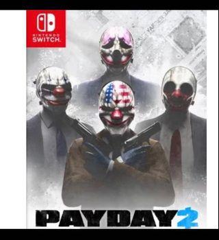 Pay day 2 nintendo switch