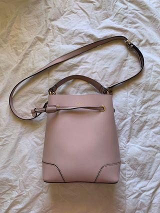 Furla Lilac Bucket Bag and Inner Envelope (new)