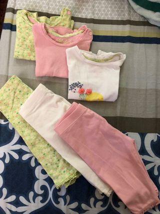 Mothercare tshirt and leggings set