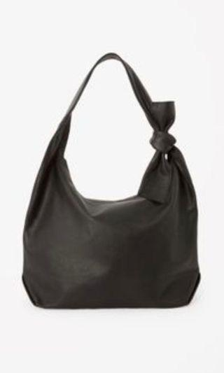 COS Leather Knot Bag