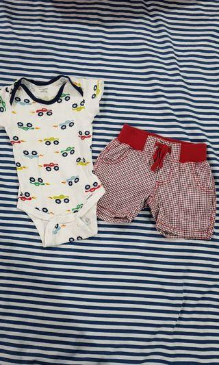 Ootd for 3 months old baby