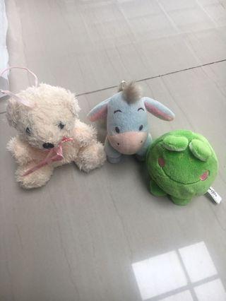 Boneka Mini 3 karakter