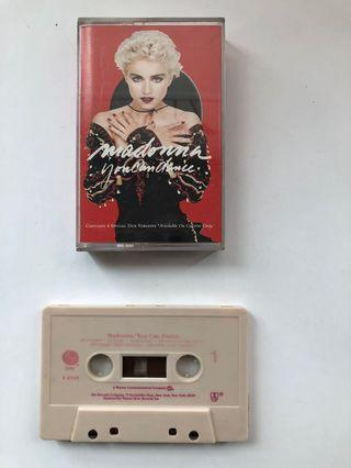 MADONNA Cassette Tape 卡式帶