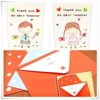 Teacher's Day DIY Handmade Card