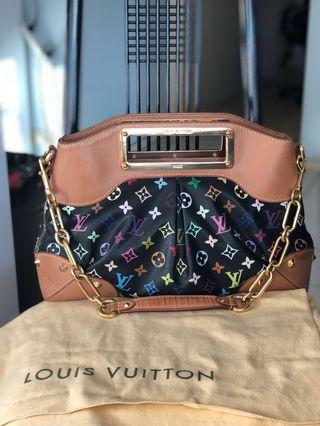 LV Black Mono Multicolore MM bag