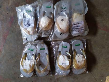 Sandal jepit anak abu2 size 34