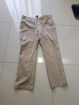 Plus size Mango women brown khakis US14 EUR46