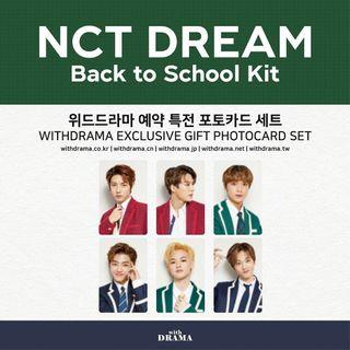 NCT DREAM WITHDRAMA B2S PC